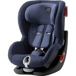 Синий, Автокресло Britax-Romer KING II Black Series Moonlight Blue