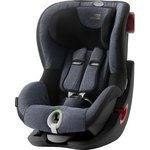 Серый, Автокресло Britax-Romer KING II LS Black Series Blue Marble