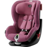 Автокресло Britax-Romer KING II LS Black Series Wine Rose