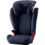 Синий, Автокресло Britax-Romer KID II Black Series Moonlight Blue