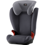 Серый, Автокресло Britax-Romer KID II Black Series Storm Grey