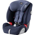 Синий, Автокрeсло Britax-Romer Evolva 123 SL SICT Moonlight Blue