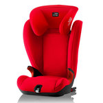Красный, Автокрeсло Britax-Romer KidFix SL Black Series Fire Red